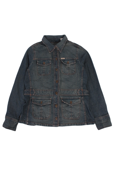 Levi's Vintage Denim Jacket Blue Size L Unisex Levi Strauss -DJ719-0