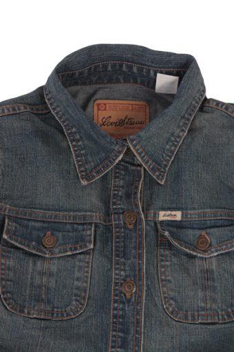 Levi's Vintage Denim Jacket Blue Size L Unisex Levi Strauss -DJ719-3585
