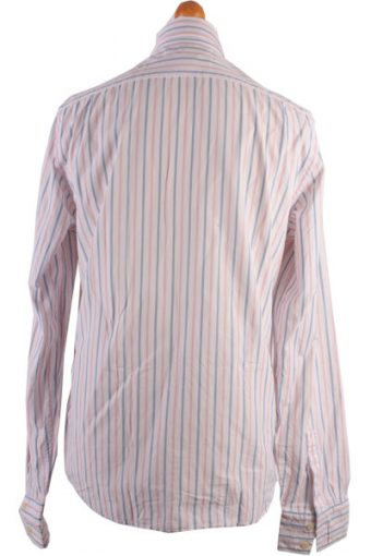 Abercombie&Fitch Vintage Long Sleeve Shirt White with Stripes Size L - SH1526-6036
