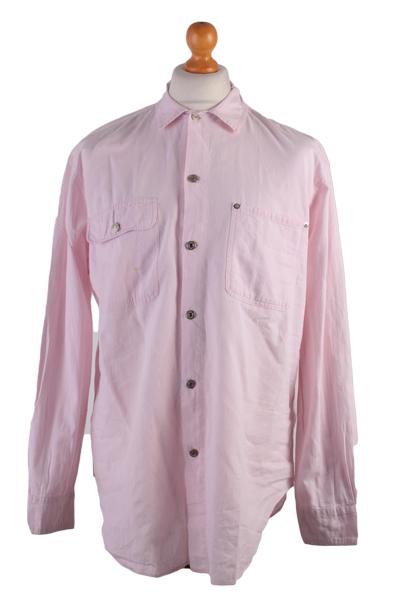 Ralph Lauren Vintage Long Sleeve Shirt Pink Size 12 - SH1567-0