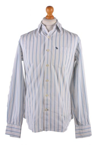 Abercombie&Fitch Long Sleeve Shirt White S