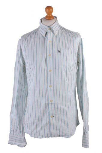 Abercombie&Fitch Long Sleeve Shirt White M