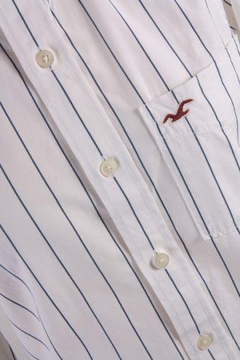 Hollister Vintage Long Sleeve Shirt White/Stripes Size S - SH1632-6997