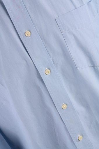 Tommy Hilfinger Vintage Long Sleeve Shirt Blue Size 16.5 - SH1663-7199