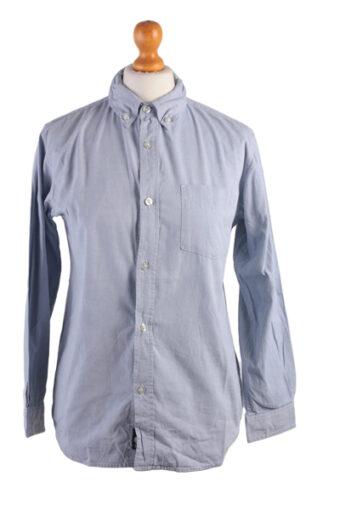 Gap Long Sleeve Kids Shirt Blue S