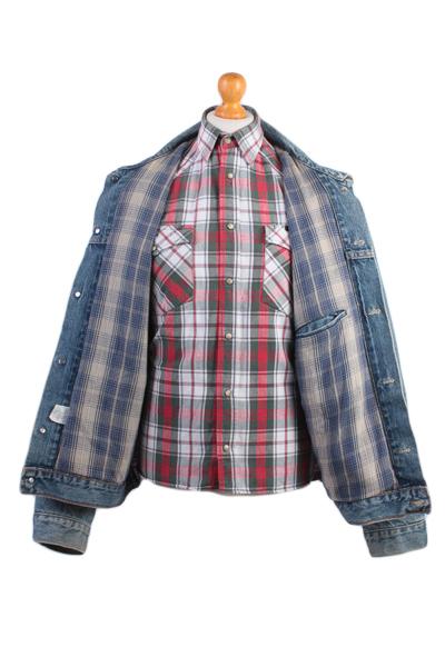 Levis Vintage Denim Jacket Blue USA With Lining Size L -DJ849-8968