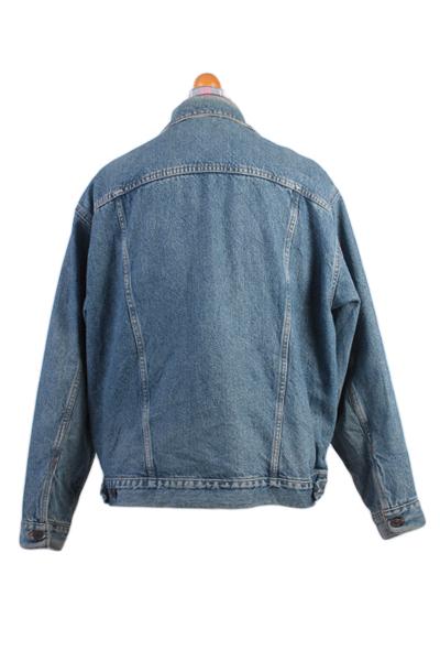 Levis Vintage Denim Jacket Blue USA With Lining Size L -DJ849-8969