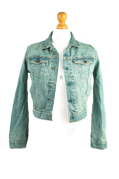 Levis Vintage Denim Jacket Blue Unisex Size S -DJ862-0