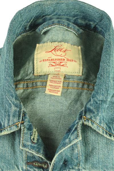Levis Vintage Denim Jacket Blue Unisex Size S -DJ862-10052