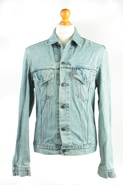 Levis Vintage Denim Jacket Blue Unisex Size L -DJ864-0