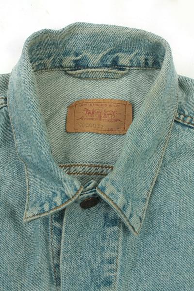 Levis Vintage Denim Jacket Blue Unisex Size L -DJ864-10062