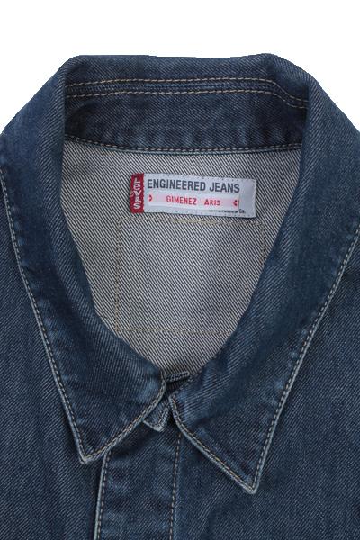 Levis Vintage Denim Jacket Blue Unisex Size M -DJ878-10104