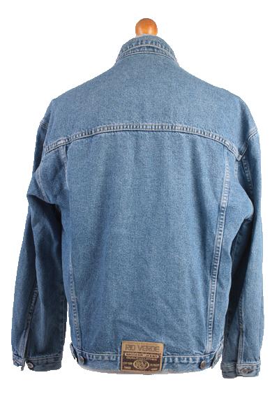 Rio Verde Vintage Denim Jacket Blue Unisex Size L -DJ894-10151