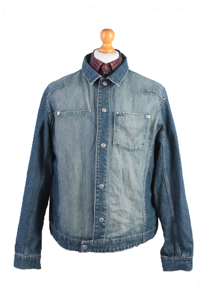 Levis Vintage Denim Jacket Blue Unisex Size XL -DJ915-0