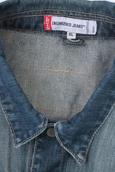 Levis Vintage Denim Jacket Blue Unisex Size XL -DJ915-11614