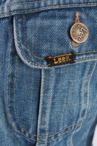 Lee Vintage Denim Jacket Blue Women Casual Size XS / S -DJ966-11821