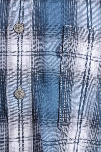 "Levis Vintage Long Sleeve Shirt Blue/Stripes Size 39"" - SH1732-10681"