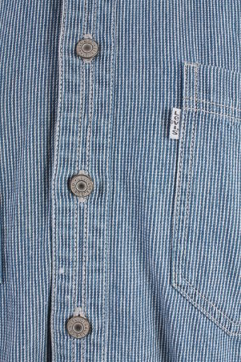 Levis Vintage Long Sleeve Shirt Blue/Stripes Size S - SH1740-10714