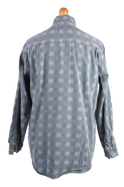 "Levis Vintage Long Sleeve Shirt Blue/Model Size 48"" - SH1751-10760"