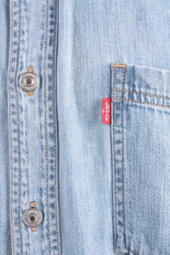 Levis Vintage Short Sleeve Shirt Blue Size L - SH1760-10798
