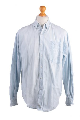 Levi's Long Sleeve Shirt 90s Retro Light Blue M