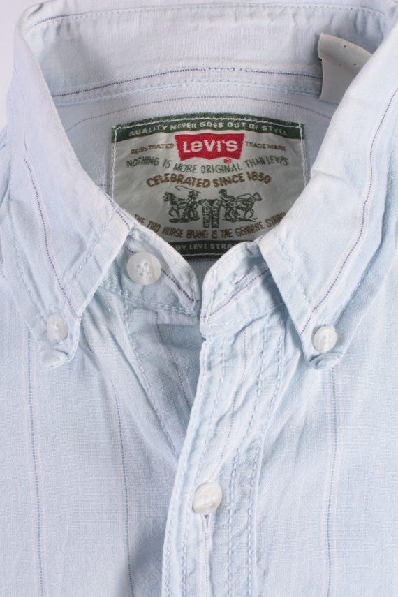 Levis Vintage Long Sleeve Shirt Blue Size M - SH1790-14409