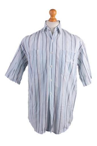 Levi's Long Sleeve Shirt 90s Retro Blue S