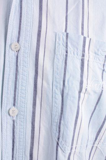 Levis Vintage Short Sleeve Shirt Blue with Stripes Size S - SH1857-15046