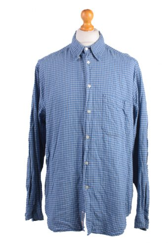 Levi's Long Sleeve Shirt 90s Retro Blue L