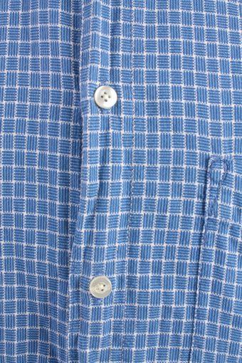 Levis Vintage Long Sleeve Shirt Blue with Design Size L - SH1860-15058