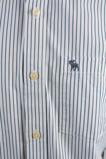 Abercrombie&Fitch Vintage Long Sleeve Shirt White/Stripes Size XXL- SH2060-15900