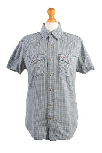 Hollister Short Sleeve Shirt /Stripes Navy S