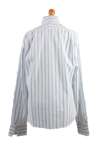 Abercrombie&Fitch Vintage Long Sleeve Shirt White/Stripes Size M- SH2054-15834