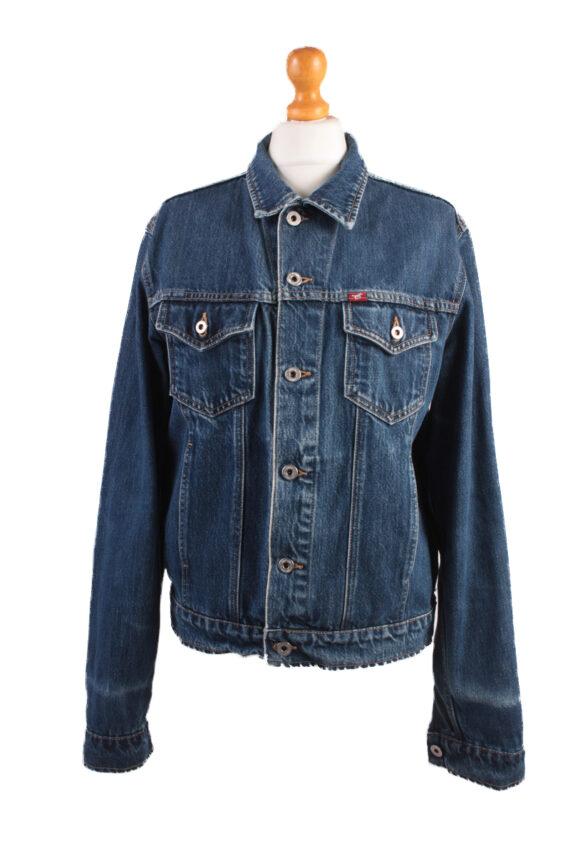 Mustang Jeans Vintage Denim Jacket Blue Size M -DJ1029-0