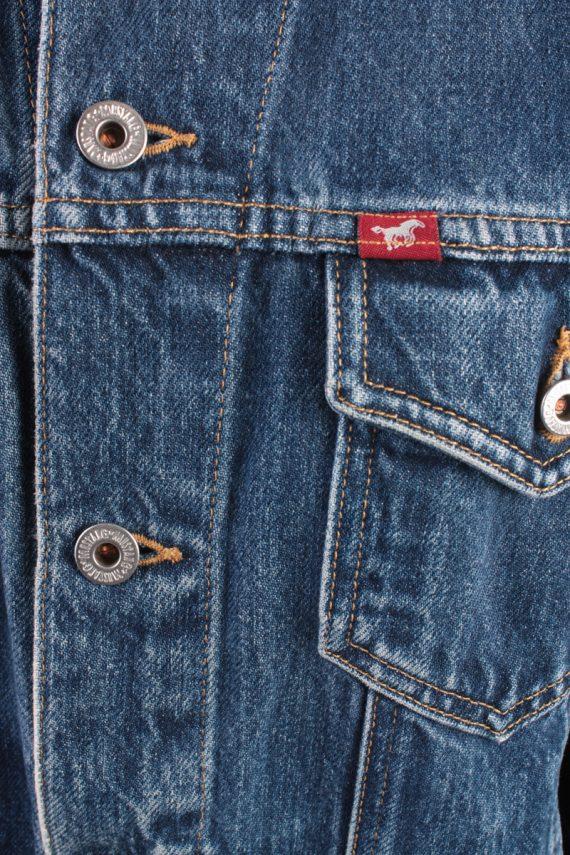 Mustang Jeans Vintage Denim Jacket Blue Size M -DJ1029-16267
