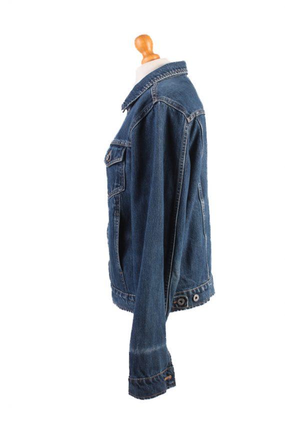 Mustang Jeans Vintage Denim Jacket Blue Size M -DJ1029-16268