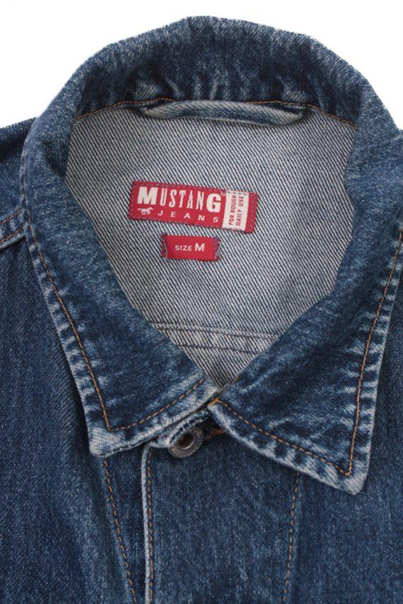 Mustang Jeans Vintage Denim Jacket Blue Size M -DJ1029-16270