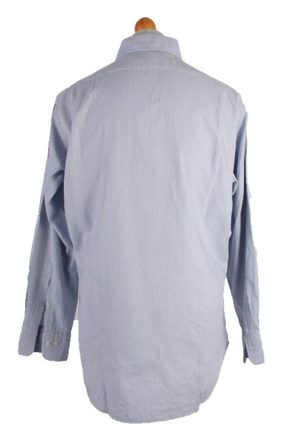 Polo by Ralph Lauren Vintage Long Sleeve Shirt Blue/Design Size 32/33 - SH1132-17090