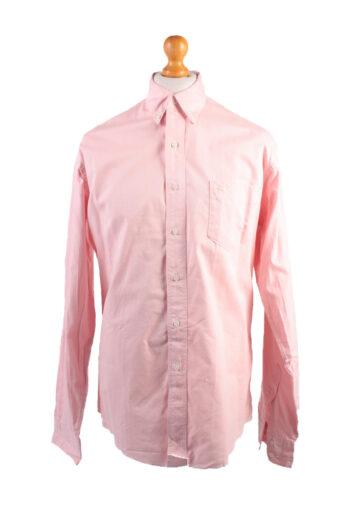 Wrangler Long Sleeve Shirt 90s Coral XL