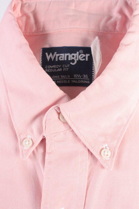 Wrangler Vintage Long Sleeve Shirt Coral Size 36 - SH1954-15460