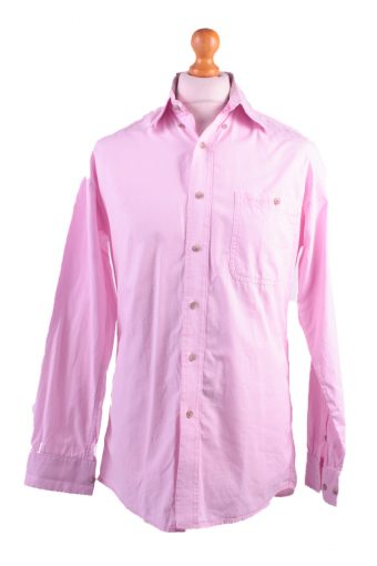 Wrangler Long Sleeve Shirt 90s Pink M