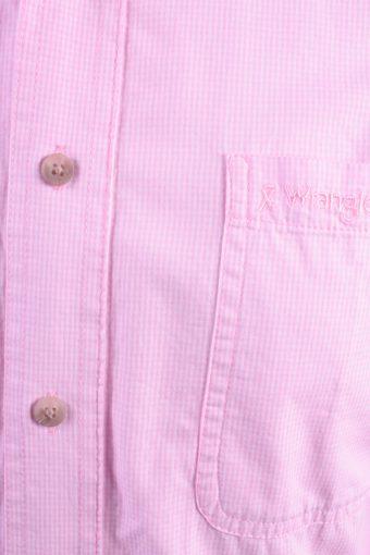Wrangler Vintage Long Sleeve Shirt Pink Size M - SH1955-15462