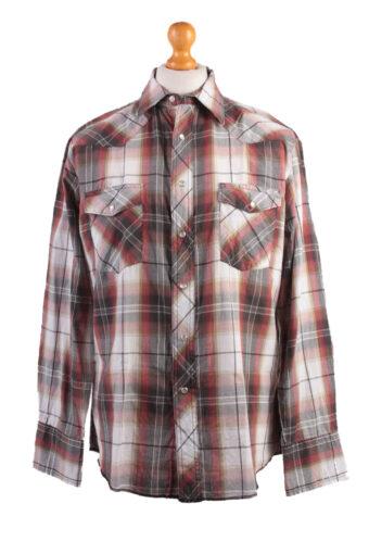 Wrangler Long Sleeve Shirt 90s Black L
