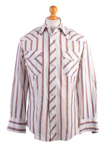 Wrangler Long Sleeve Shirt 90s White L