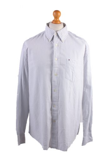Tommy Hilfiger Long Sleeve Shirt White L