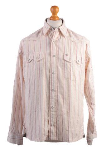 Tommy Hilfiger Long Sleeve Shirt Cream M
