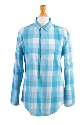 Zara Young Long Sleeve Shirt Aqua/Design Aqua M