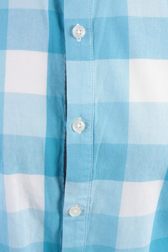 Zara Young Vintage Long Sleeve Shirt Aqua/Design Size M- SH2004-15665