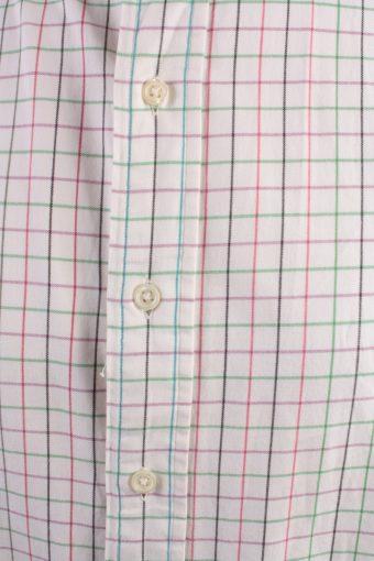 Polo by Ralph Lauren Vintage Long Sleeve Shirt White/Design Size XL - SH2037-15798