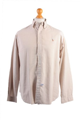 Polo House Long Sleeve Shirt Beige XL